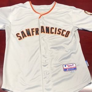 SF Giants Posey World Series Jersey